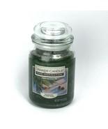 Yankee Candle FRESH BALSAM FIR 19 oz Large Glass Jar Candle Fragrance BX96 - $19.77