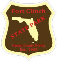 Fort Clinch Florida State Park Sticker R6726 You Choose Size - $1.45+