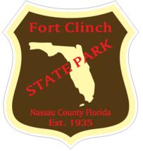 Fort Clinch Florida State Park Sticker R6726 - $1.45+