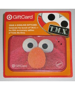 Tickle Me Elmo TMX Giggling Gift Card NONWORKING Target 2006 $1 Loaded  - $5.00