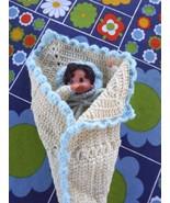 Vintage Thumb Sucking Doll Handmade in Crochet ... - $22.00