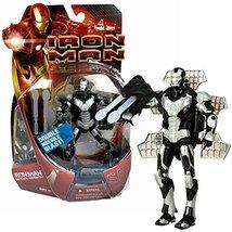 Movie Marvel Year 2007 Iron Man Series 6 Inch Tall Figure - Satellite Armor IRON - $54.99