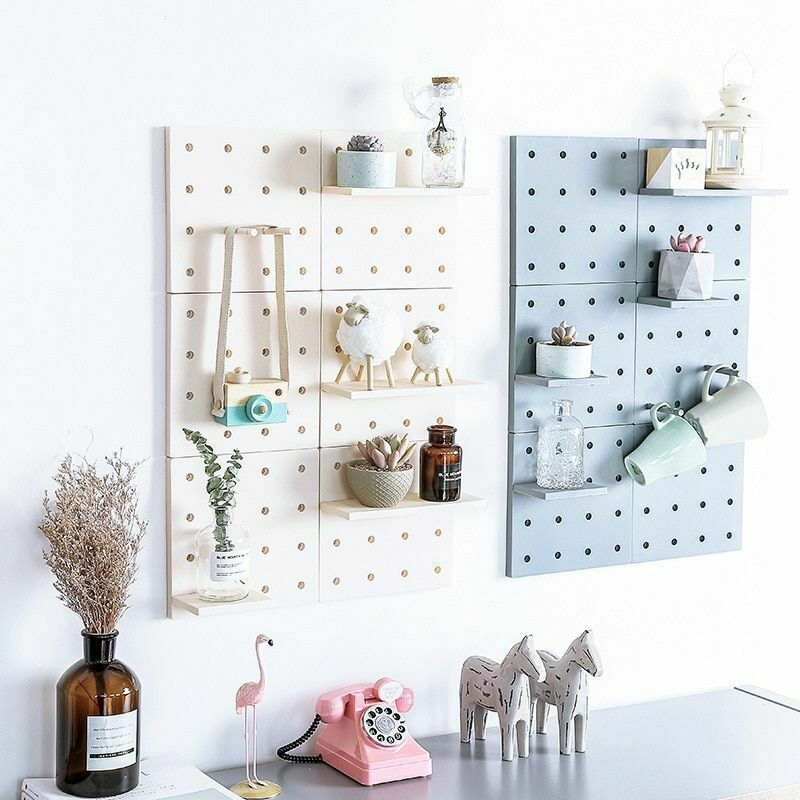 Hole Plate Wall Storage Rack Living Room Kitchen Suction Holders Home Organizers image 2