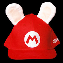 Nintendo Switch Mario Rabbids Kingdom Battle Game Hat Cap Promo Gift Red... - $39.99