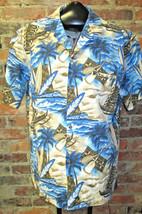Vintage Hawaiian Shirt Mens Sz M Surf Boards Royal Creations USA Aloha H... - $16.75