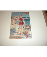 genuine Grands Magasins French Department Store Catalog cver Beach Beaut... - $29.99