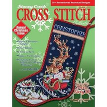Summer 2013 Stoney Creek Cross Stitch Collection Magazine christmas issue - $7.65