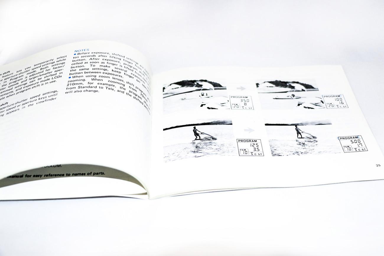 ORIGINAL MINOLTA MAXXUM 7000 35MM FILM CAMERA OPERATING MANUAL INSTRUCTION BOOK