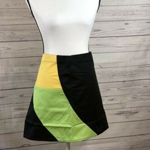 JWE Designs black yellow green waist apron 1 Big Pocket DuPont Teflon Fa... - $13.06