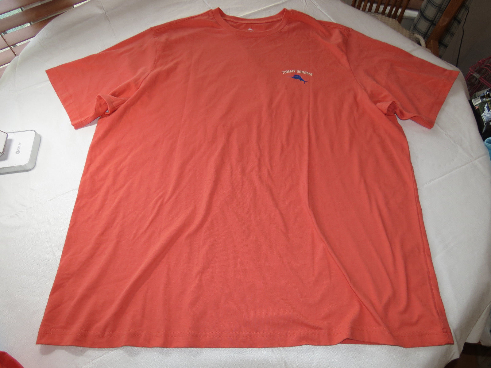 Tommy Bahama Marlin Polo Shirt Size Adult Extra Large Red Rugby Island Relax Men