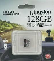 Kingston - SDCE/128GB - 128GB High Endurance microSDXC Card - $36.58