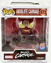 Funko Pop! Marvel Absolute Carnage PX Exclusive Deluxe Bobble Head Figure #673