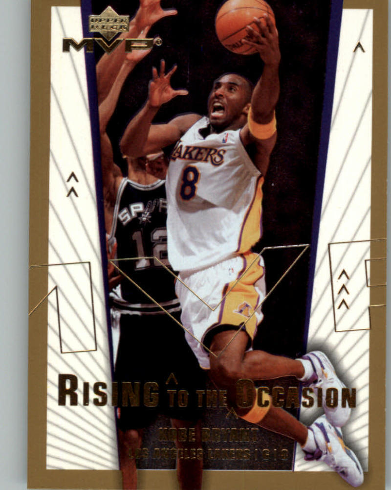 Primary image for 2003-04 Upper Deck MVP Rising to the Occasion #RO1 Kobe Bryant NM-MT