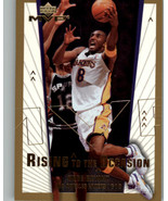 2003-04 Upper Deck MVP Rising to the Occasion #RO1 Kobe Bryant NM-MT
