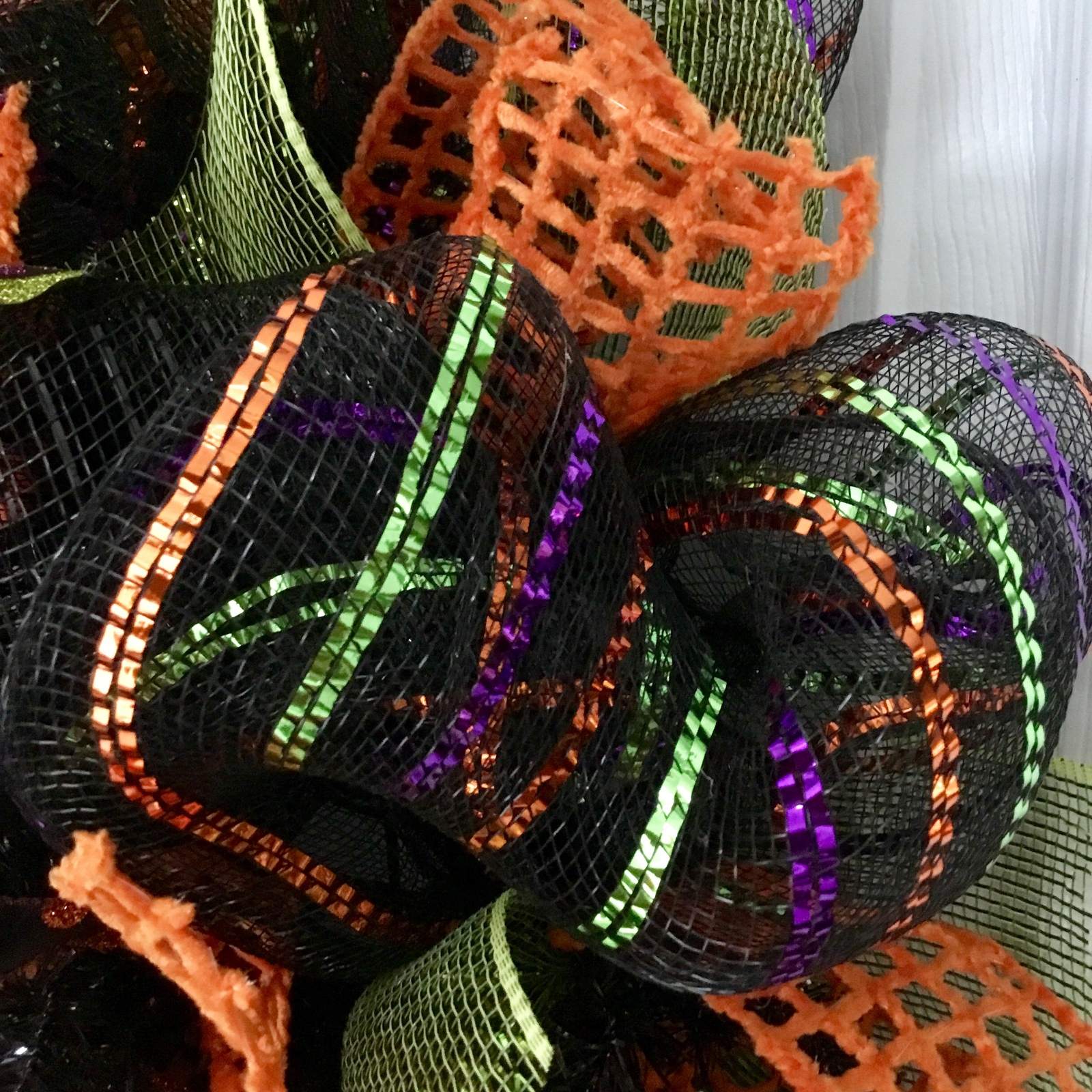 Witches Coffee House Stop By For A Brew Halloween Handmade Deco Mesh Wreath image 5