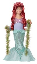 Lil' Mermaid Halloween Dress Up Play Costume Toddler 4-6 - $31.89