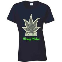 Money Maker 420 Canna Ladies T Shirt image 7
