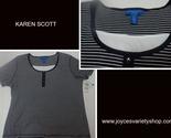 Karen scott black striped blouse web collage thumb155 crop