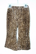 The Children's Place Animal Print Velvet Pants Toddler Girl 18 Months - $9.89