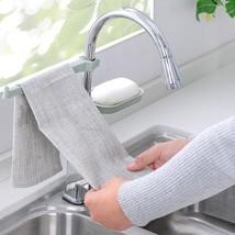 1pcs Bathroom Kitchen Faucet Clip Dish Cloth Clip Shelf cleaning - $4.99