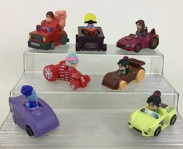 Wreck It Ralph 2 Ralph Breaks The Internet 7pc Lot Toy Cars Disney McDonalds A1 - $14.80