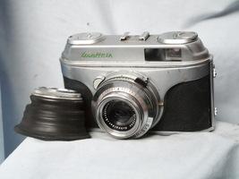 Arette 1A Vintage 35mm Camera c/w Xenar Lens + Hood  - Spares or Repair -  - $12.00