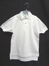 Outer Banks~White Short Sleeve Golf Polo Shirt~School ~ Size Youth Lrg~Nwot ~Usa - $10.39