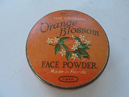 Orange Blossom Face Power tin, Bo-Kay Perfume Co, Made in Florida, old - $25.65