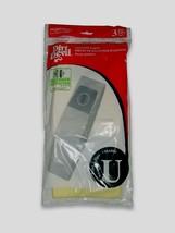 3pk Dirt Devil Microfresh Vacuum Bag Type U Featherlite Platinum 3920750001 New! - $8.77