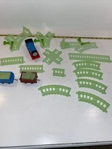 Thomas The Tank Engine Trackmaster Glow In The Dark Train Set 2013 Matte... - $25.64
