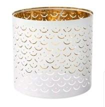 """Ikea NYMÖ NYMO Lamp Perforated Shade White / Brass 9"""" - New   - $29.69"""