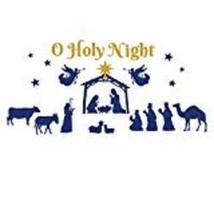 Nativity Scene Christmas Garage Door Magnet - $16.36