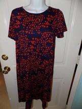 LuLaRoe Navy Blue W/Triangles Carly Dress Size XS Women's NWOT - $29.04