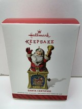 Hallmark Keepsake SANTA CERTIFIED, by Ken Crow, 2014, 2nd in series - $6.88