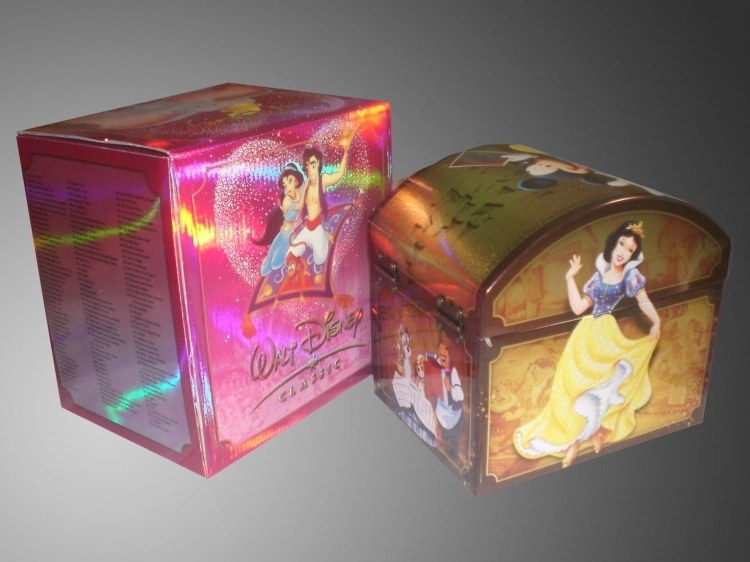 Walt Disney's 100 Years Of Magic Collection DVDs 172 Disc Box Set Free Shipping
