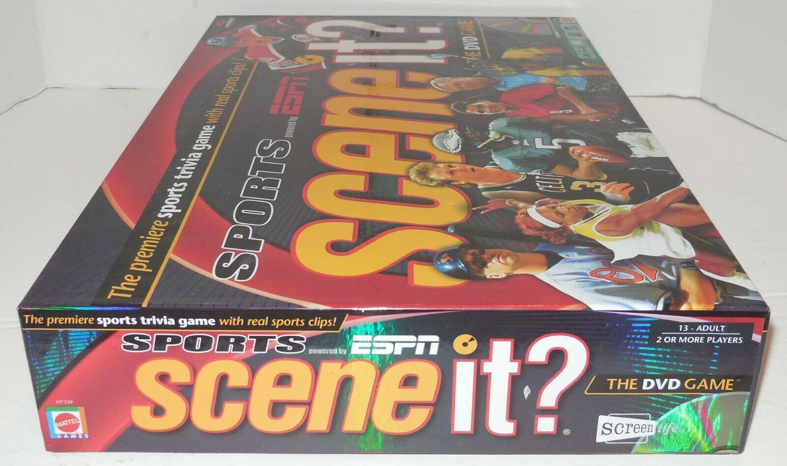 2005 Screenlife Sports Espn Scene It Dvd And Similar Items