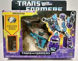 1987 Hasbro G1 Transformers Powermaster Decepticon Dreadwind w/ Original... - $350.00