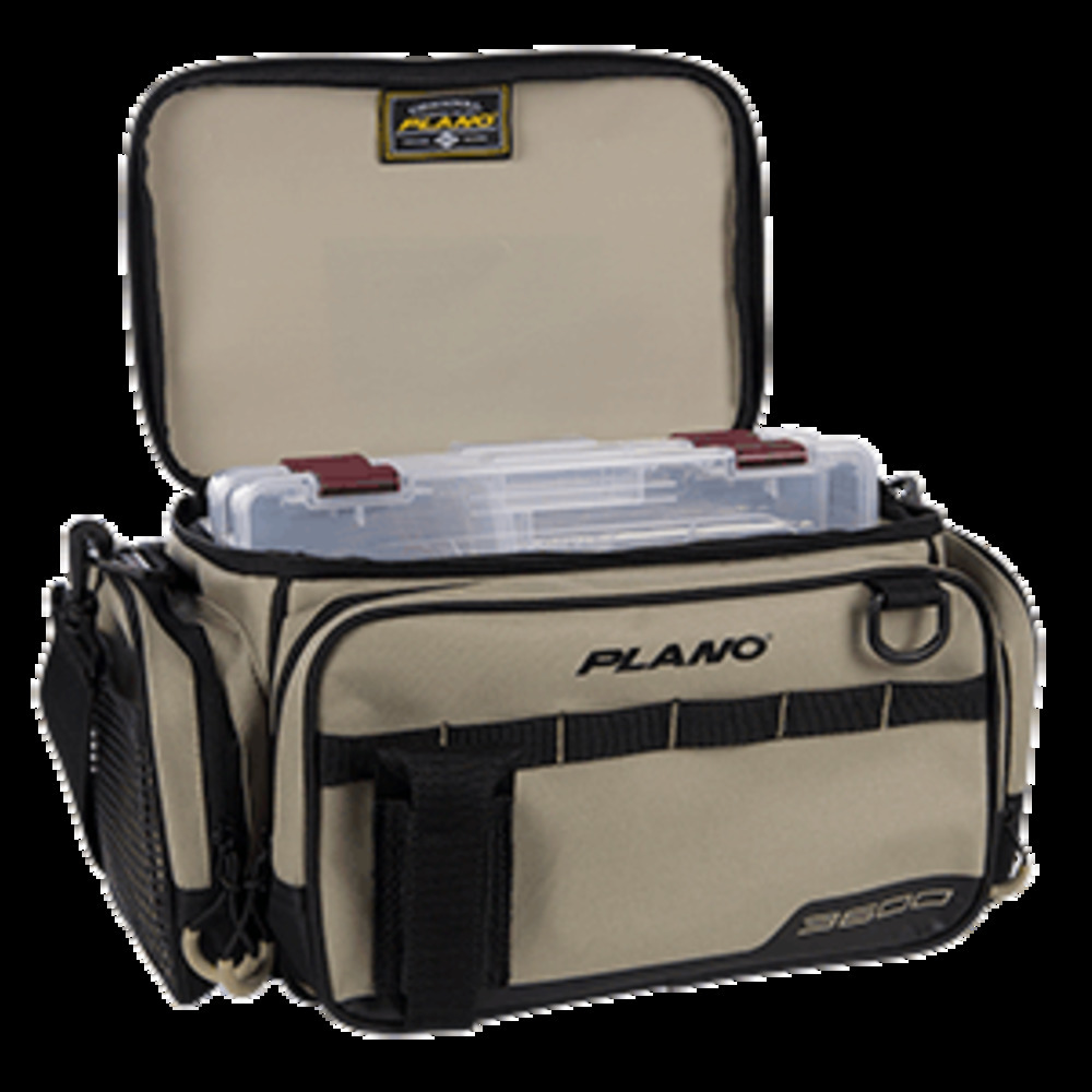 Primary image for Plano Weekend Series Tackle Case - 2-3600 Stowaways Included - Tan
