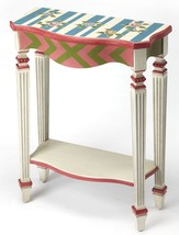 Mackenzie & Childs Style Replica Hand Painted Cottage Console Accent Tab... - €347,42 EUR