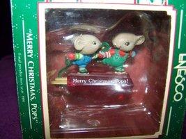 Enesco Merry Christmas Pops Ornament 1989 - $12.62
