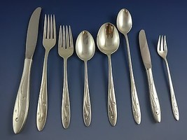 Awakening by Towle Sterling Silver Flatware Set For 8 Service 74 Pieces - $3,700.00