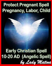 Early Christian Magic - To Protect And Drive Evil Forces From A Pregnant... - $75.00