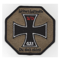 """4"""" Air Force 1ST Sos Special Operations Goose 35 Embroidered Patch - $23.74"""