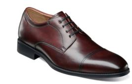 Florsheim Shoes Amelio Cap Toe Oxford Burgundy 14243-601 - $120.99