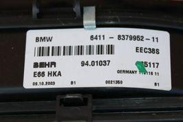 BMW E66 760Li Rear Seat Roof Ac Blower W/ Console Refrigerator Fridge Box Cooler image 9