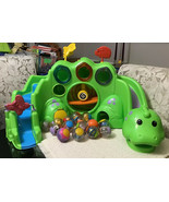 Fisher Price Roll-a-Rounds DROP AND ROAR DINOSAUR - Includes 15 Balls, H... - $94.05