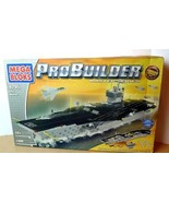 Mega Bloks Pro Builder Master Series USS Nimitz Air Carrier  Model Set 2004 - £250.51 GBP