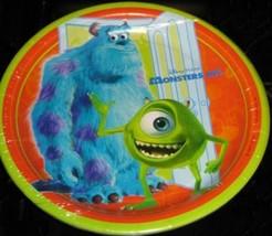Disney Pixar Monsters, Inc. Lunch Plates 8 Ct - $8.21