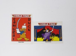 Impel Mickey Mouse Club World Tour Walt Disney Trading Cards - 2 Card Lot - $5.69