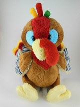 "Ganz Webkinz Turkey Plush Thanksgiving 8"" Very Pretty Colors ADORABLE! - $9.89"